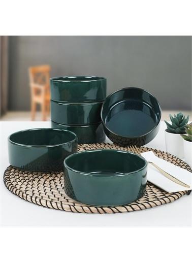 Keramika Zümrüt Stackable Çorba Kasesi 14 Cm 6 Adet Renkli